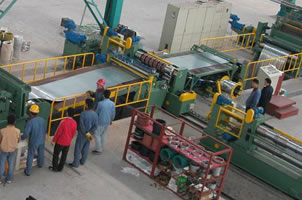 Middle Thick Slitting Line